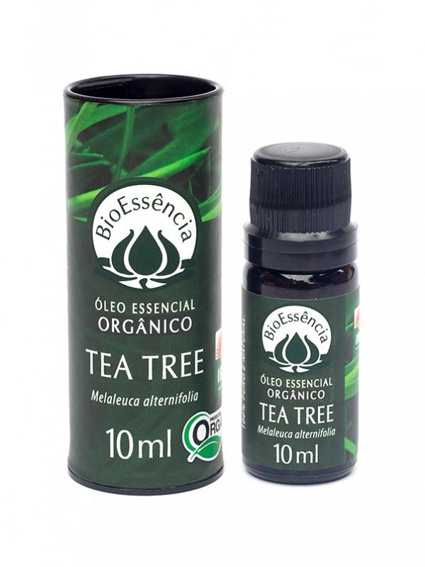 OLEO ESSENCIAL DE TEA TREE ORGANICO 10ML